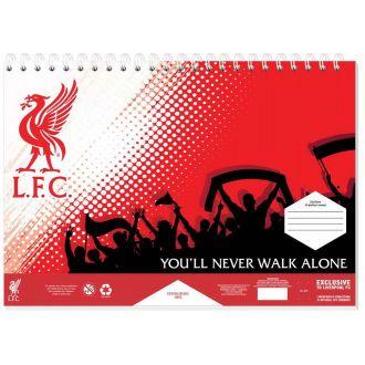 Diakakis μπλοκ ζωγραφικής 40Φύλλων 23Χ33 Liverpool