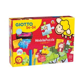 Giotto Be-be Σετ πλαστελίνης & puzzle (479800)