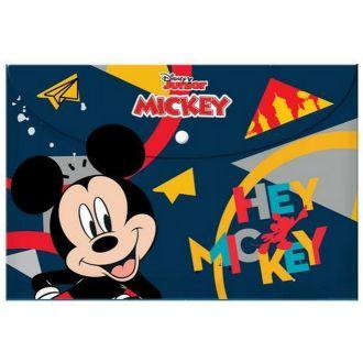 Diakakis Ντοσιέ με κουμπί Α4 Mickey 000562206