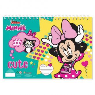 Must Μπλοκ Ζωγραφικής  23x33 Minnie 40Φ. 000562559