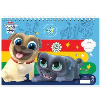 Diakakis μπλοκ ζωγραφικής 40Φύλλων 23Χ33 Puppy Dogs Pals