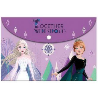 Must φάκελος κουμπί A4 Frozen 2