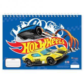 Must Μπλοκ Ζωγραφικής  23x33 Hot Wheels 40Φ. 000570249