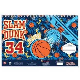 Diakakis μπλοκ ζωγραφικής 40Φύλλων 23Χ33 Sports