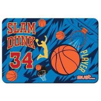 Must Σουπλά PVC 43x29cm basketball