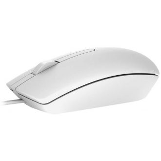 Dell Mouse MS116 Optical Wired White