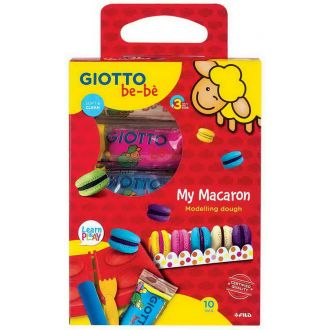 Giotto Be-be Σετ πλαστελίνης My Macaron  000479900