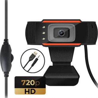 Lamtech Web camera USB HD with LED 720P