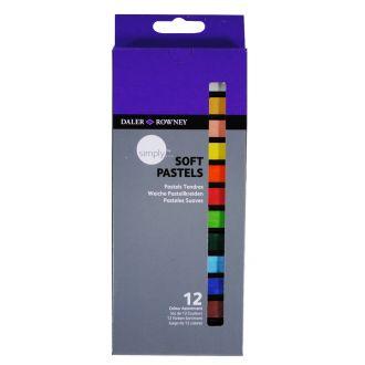 Daler Rowney Simply Soft pastels set 12 χρωμάτων (157500112)