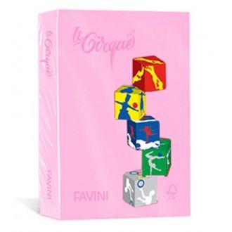 Favini Le Cirque Χρωματιστό χαρτί A4 80gr 500 Φύλλα Rosa (108)