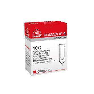 Romaclip Συνδετήρες No4 100τμχ