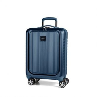 March Βαλίτσα ταξιδίου Fly Cabin Laptop Trolley Navy Brushed (M104-34-52)