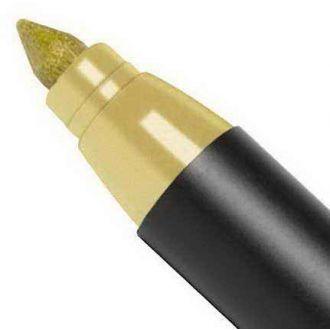 Edding 1200 Μαρκαδόρος ινών metallic λεπτός 1 mm Χρυσό(053)