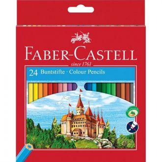 Faber Castell Ξυλομπογιές 24 Χρώματα 12306256