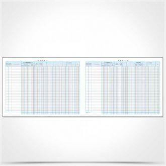 Typotrust Βιβλίο εσόδων - εξόδων 25x35cm 50 φύλλων Κωδ. 126Α