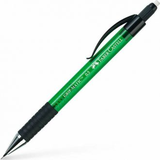 Faber Castell μηχανικό μολύβι GRIPMATIC 0.5mm πράσινο 137563