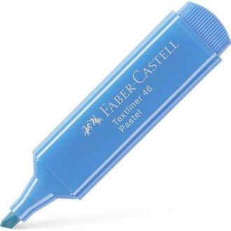Faber Castell Μαρκαδόρος Υπογραμμίσεως Pastel Σιελ ultramarine 154668