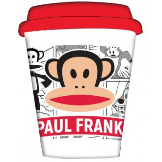 BMU bamboo cup Paul Frank Comic 350ml  575-51195
