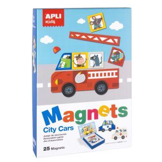 APLI Kids Μαγνητικό puzzle Πυροσβεστικό όχημα 25 κομμάτια