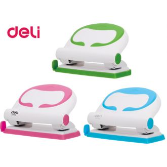 Deli Περφορατέρ πλαστικό 20 Φύλλων 0113