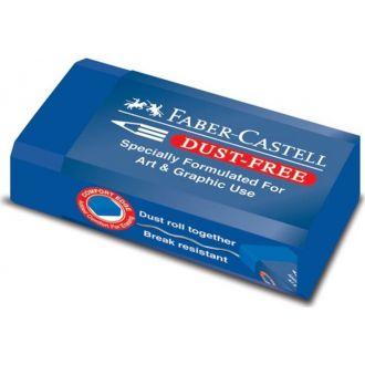 Faber Castell Γόμα Dust Free μπλε 187170