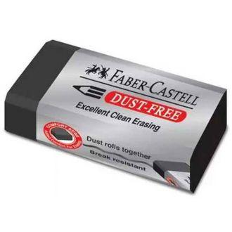 Faber Castell Γόμα Dust Free μαύρη 187171