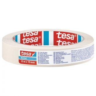 Tesa Basic Χαρτοταινία 19mm x 35m