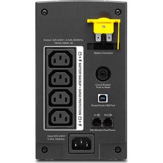UPS APC Back-UPS BX 700VA, AVR, IEC