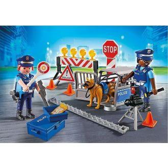 Playmobil 6924 Οδόφραγμα αστυνομίας