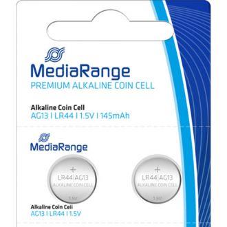 Media Range μπαταρία λιθίου AG13 LR44 1.5V σετ 2τμχ.  (MRBAT113)