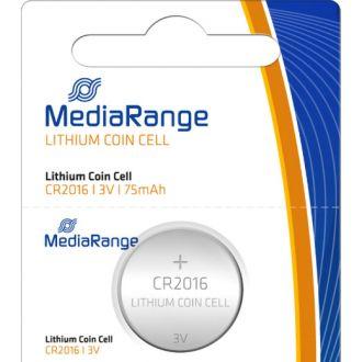 Media Range μπαταρία λιθίου  CR2016 3V  /τεμάχιο  (MRBAT136)