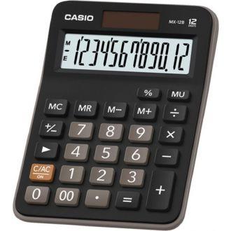 Casio Αριθμομηχανή 12 ψηφίων ηλίου/μπαταρίας 10.6 x 14.7cm (MX-12B)