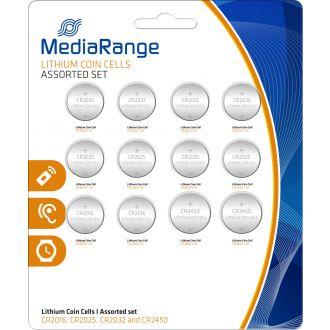Media Range Set μπαταρίες λιθίου 12τμχ.  (MRBAT139)