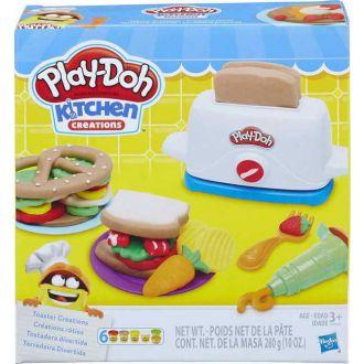 Hasbro Play-Doh Kitchen Creations Toaster Creations (E0039)