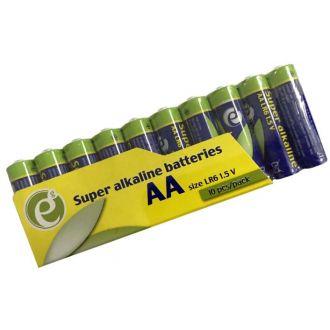 Energenie μπαταρίες super alkaline AA 10pcs.