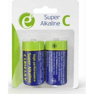 Energenie επαναφορτιζόμενες μπαταρίες C-cell 2τμχ.