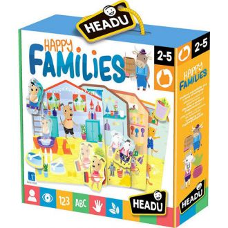 Headu Happy Families 21994
