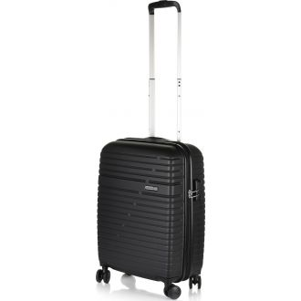 American Tourister Βαλίτσα ταξιδίου Aero Racer Spinner 55/20 Jet black (116988-1465)