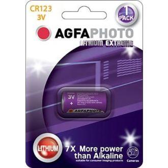 Agfa μπαταρία λιθίου CR123 3V