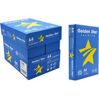 Golden Star Premium Χαρτί Εκτύπωσης Α4 80gr 500Φ Λευκό