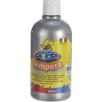 Carioca τέμπερα μπουκάλι 500ml Ασημί (20)