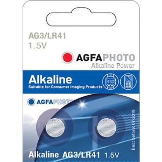 Agfa μπαταρία λιθίου ρολογιών LR411,5V (AG3)