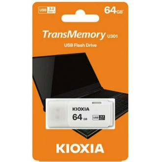 Kioxa USB flash drive  3.2 Gen1 64gb  Hayabusa U301 White (LU301W064GG4)