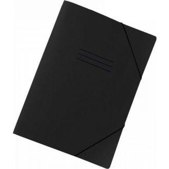 Next Φάκελος με λάστιχο Classic 35Χ25 εκ. Μαύρος