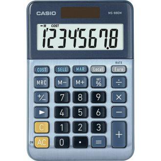 Casio αριθμομηχανη 12Ψ Μπατ MS-88Μ