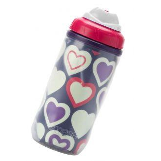 Ecolife smash glow bottle 420ml - Hearts (23682)