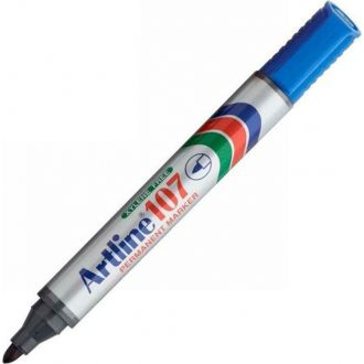 Artline 107 Μαρκαδόρος ανεξίτηλος 1.5mm Μπλε