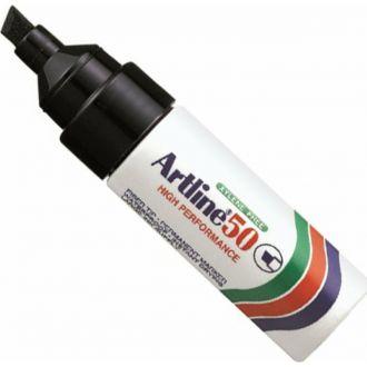 Artline 50 Μαρκαδόρος ανεξιτηλος χοντρή μύτη Μαύρο