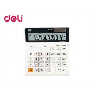 Deli Αριθμομηχανή 12 Ψηφίων  Ηλίου/Μπαταρίας M01010