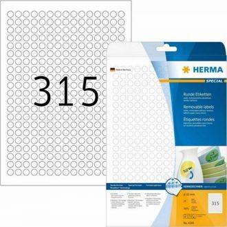 HERMA αυτοκόλλητες ετικέτες  4385 10ΜΜ 25Φ